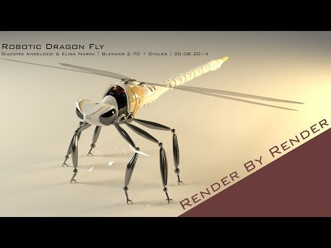 Incredible Flying Robot Dragonfly - Slo Mo - Earth Unplugged - YouTube