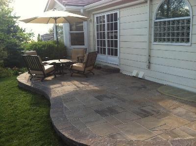 81 best hardscapes images on pinterest | backyard ideas, garden ... - Great Patio Ideas