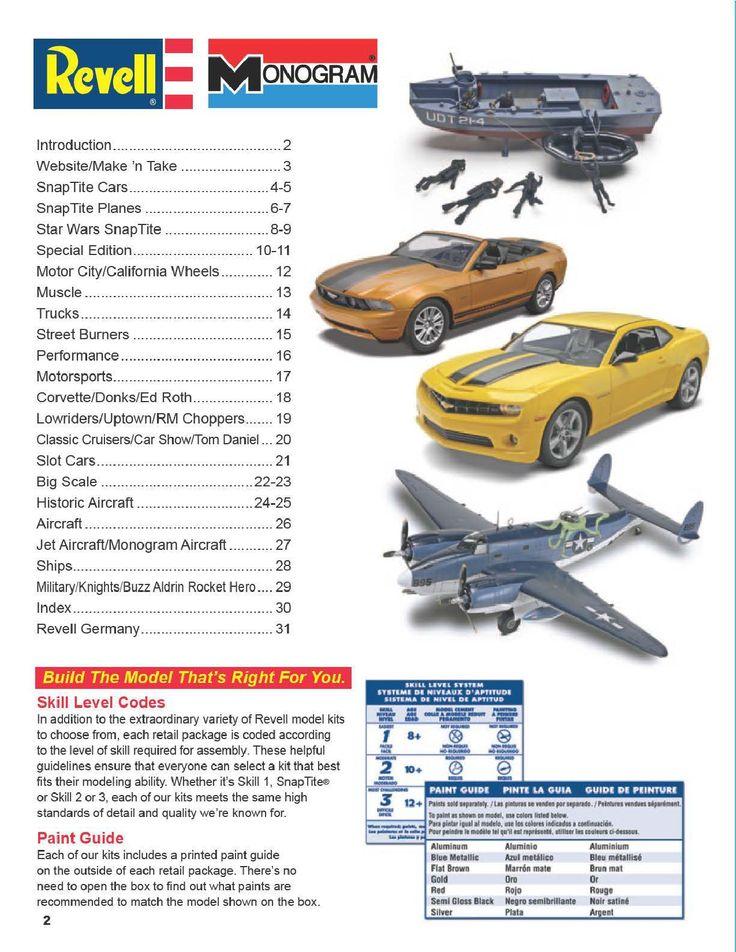 Page 2 - Revell Monogram Catalog 2012 - Plastic Kits - Model Kits - Scale Modeling