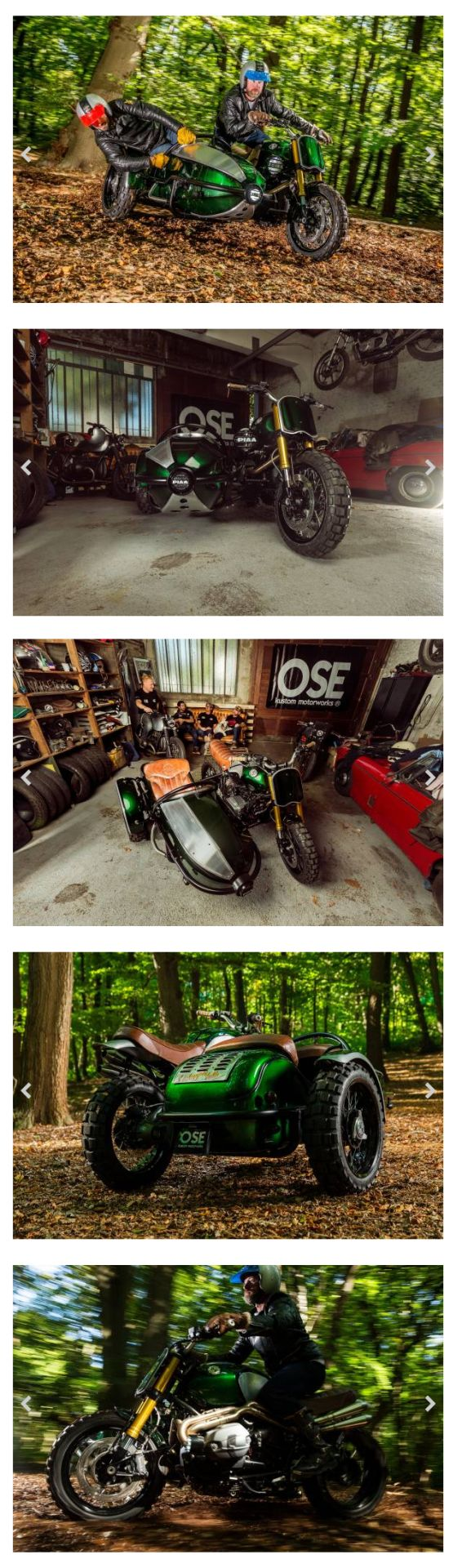 BMW R nineT Scrambler Sidecar - Old School Engineering #motorcycles #scrambler #motos | caferacerpasion.com