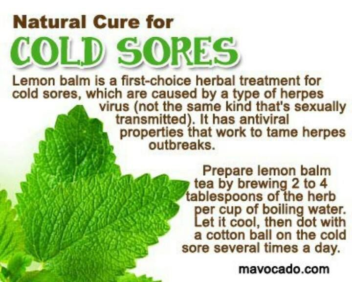 Antiviral for cold sores