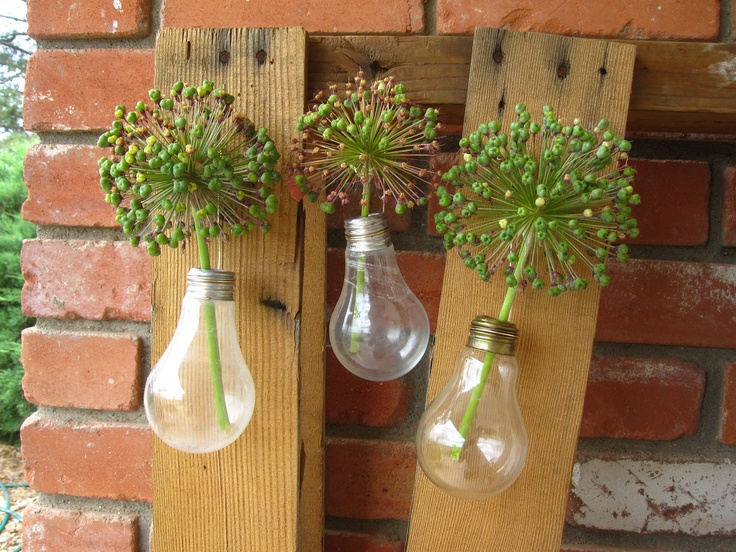 Recycle old light bulbs...