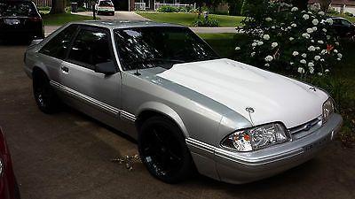 eBay: 1993 Ford Mustang GT Hatchback 2-Door 1993 Ford Mustang GT Hatchback 2-Door 5.0L #fordmustang #ford