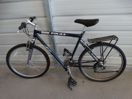 buy LOT#1030-2: BMW POLICE BICYCLE 21 SPEED MOUNTAIN BIKE