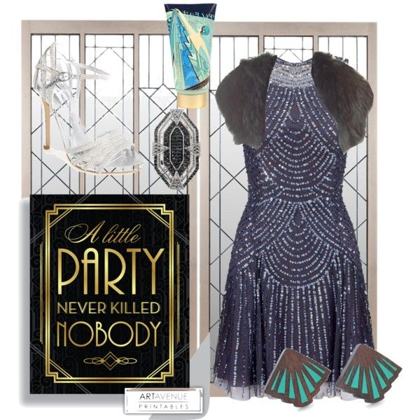 Art Deco Outfit feat. Hot & Flashy Body Wash (http://www.jijikiki.com/products/hot-flashy-body-wash)