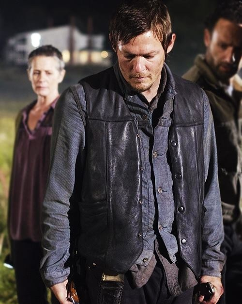 Carol, Daryl and Rick