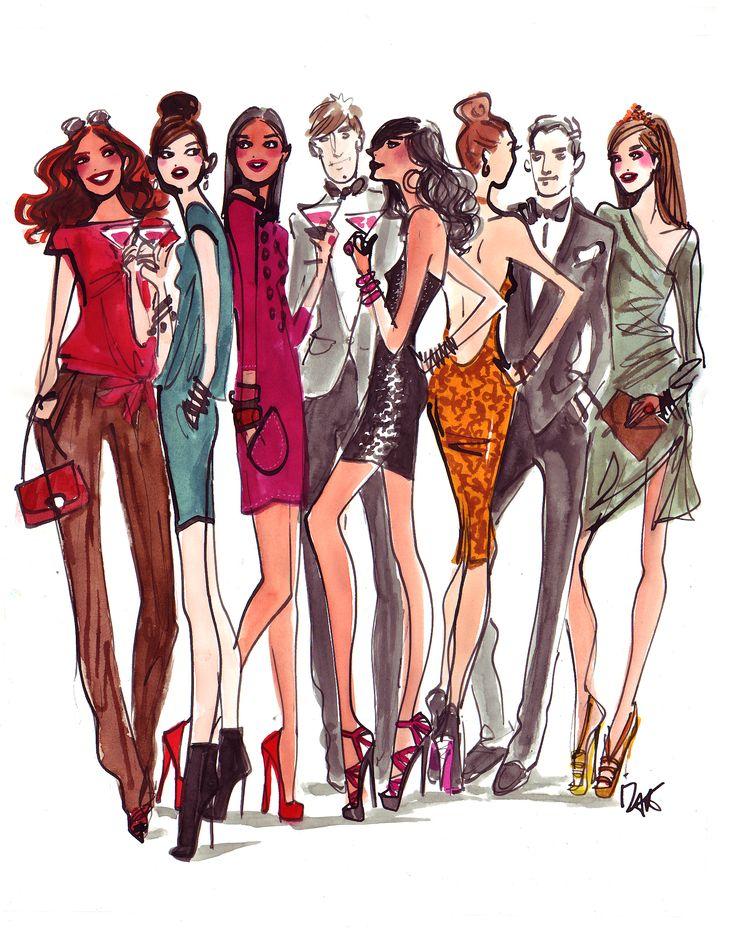 #illustration #fashion #fashionillustration #henribendel #izakzenou #izak #trafficnyc