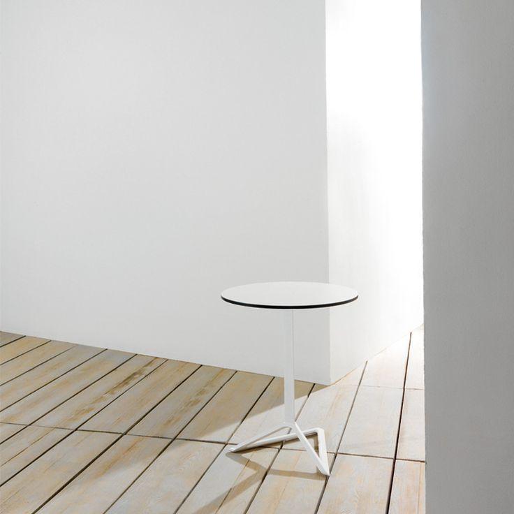 DELTA TABLE BASE h:105cm by Jorge Pensi | TABLES - Vondom Products