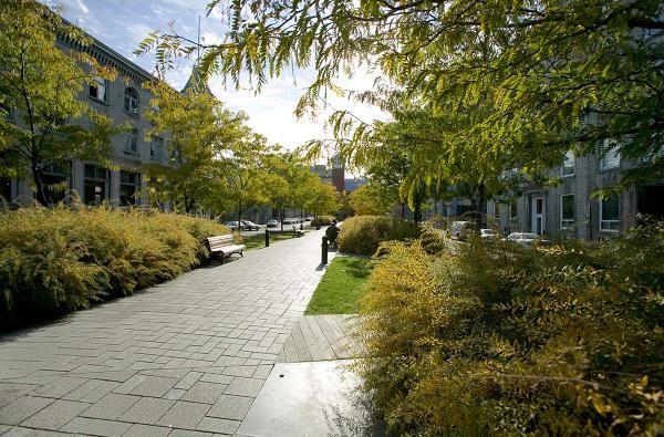 Place d 39 youville montreal by claude cormier associ s for Place landscape architecture