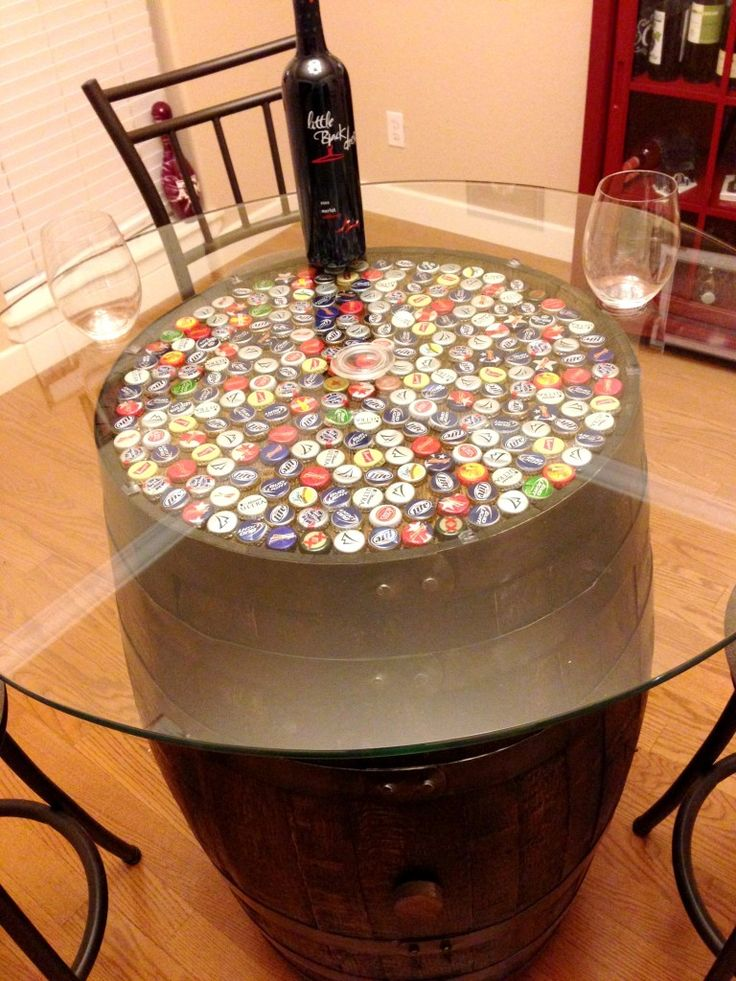 1000 ideas about Wine Barrel Table on Pinterest