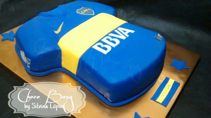Cake Boca Jr By Choco Bang