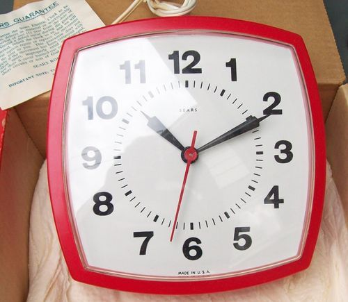 Retro Electric Kitchen Wall Clocks: Vintage Clocks, Vintage Watches And Medieval