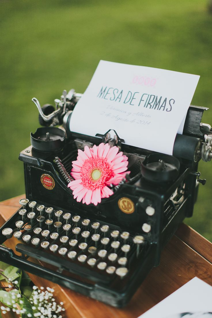 mquina de escribir vintage