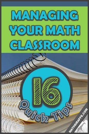 Management & Procedures - Quick Tips & Tricks for your Math Classroom