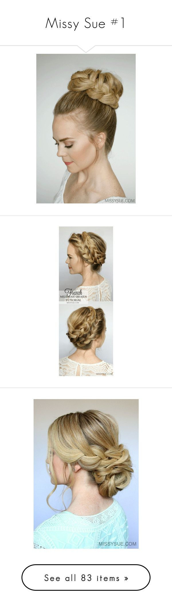 """""""Missy Sue #1"""" by tynabrookler ❤ liked on Polyvore featuring headband hair accessories, bride headband, bridal headbands, formal hair accessories, hair extensions headband, braid crown, accessories, hair accessories, hats and beauty products"""