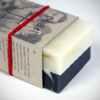 pearl + soaps for the ace hotel.  great packaging.