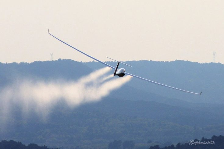 If you're flying a glider, you're always sinking. And the only way to stay aloft is to find air that's going up faster than you're going down. So where is the fast-rising air?