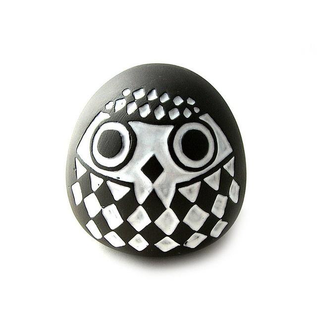 72 best Modern Dinnerware, Pottery, etc. images on Pinterest ... Box Grey Black White Paterrned Modern Ceramic on