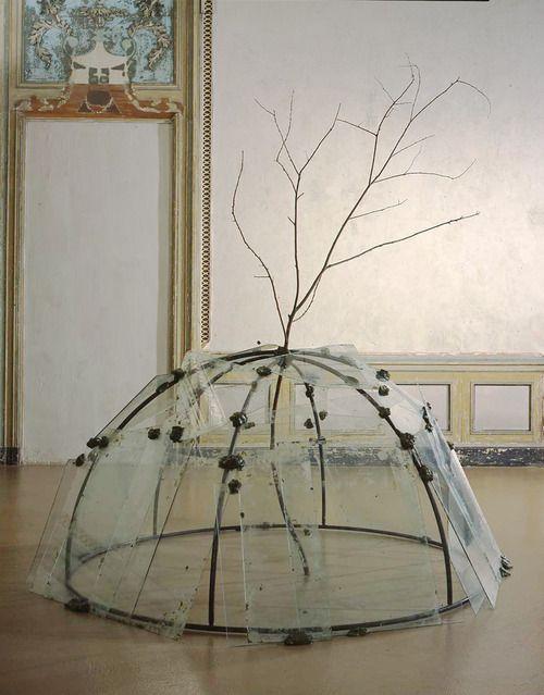 cinoh:  Mario Merz Igloo con albero, 1968-1969
