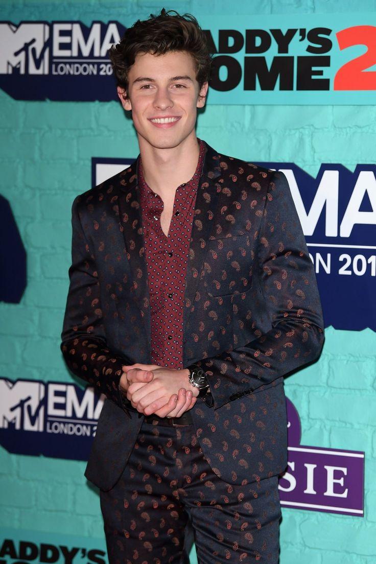 Shawn Mendes MTV EMA's 2017