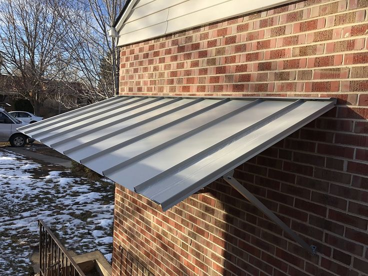 15 Best Galvalume 174 Steel Awnings Images On Pinterest