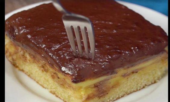 Gâteau Boston à la vanille... Trop facile mais surtout TROP BON!