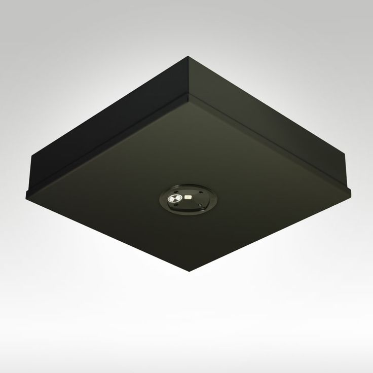 LED Goldstar Black - Famco F9991/SMS/BL Surface Mounted Self Contained Emergency Luminaire #EmergencyLighting