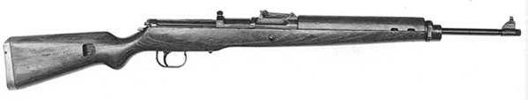 Gewehr K43 rifle sheet. Country creator/user: Germany Name: K43 Shooting mode: semi-automatic Caliber: 7,92 mm Magazine: 10 bullets Range: 800 m Rate of fire: 30 rounds/min Weight: 4,27 kg Rate of fire: 1115 mm