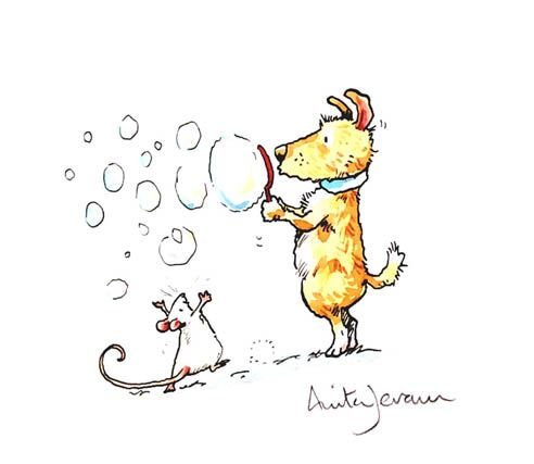 The Illustration Cupboard Blowing Bubbles Anita Jeram