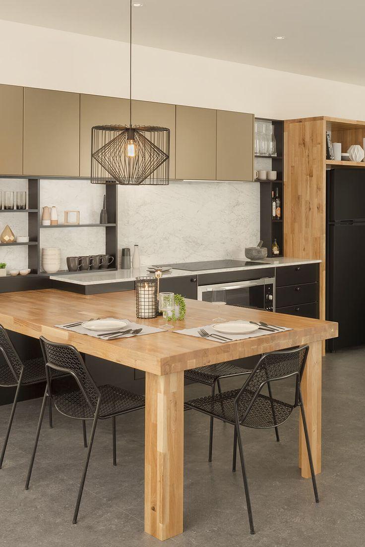 Rising high kitchen design | kaboodle kitchen