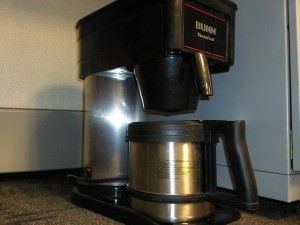 Cleaning a Bunn Coffee Maker