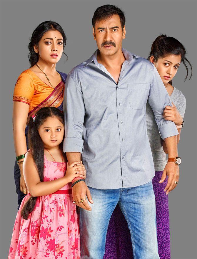 First look pic of Drishyam featuring Ajay Devgn, Shreya Saran and co-actors. #Bollywood #Movies #Drishyam