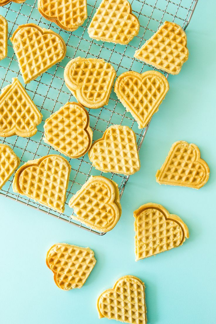 Make Scandinavian sugar cookies in your waffle maker using this easy recipe from Scandinavian Gatherings.