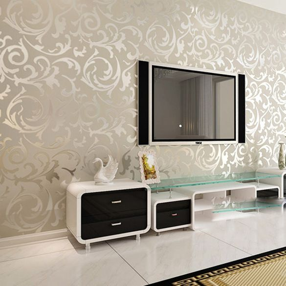 1000 ideas about wall behind tv on pinterest hide wires - Wall wallpaper wall panel ...