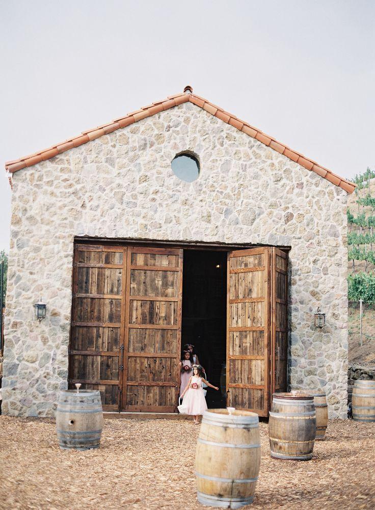 Photography : Kurt Boomer | Rustic and Romantic Alfresco Wedding in Malibu: