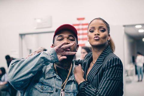 Rihanna & Dj Mustard - qui a fait les premières parties de la tournée européenne de Rihanna