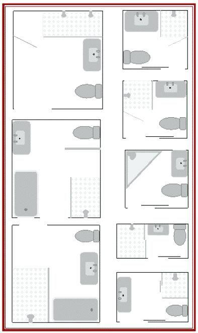 Kleines Bad Grundrisse Design Badezimmer Grundriss Für Das