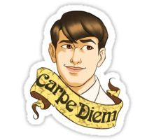 "Knox Overstreet ""Carpe Diem"" Sticker"