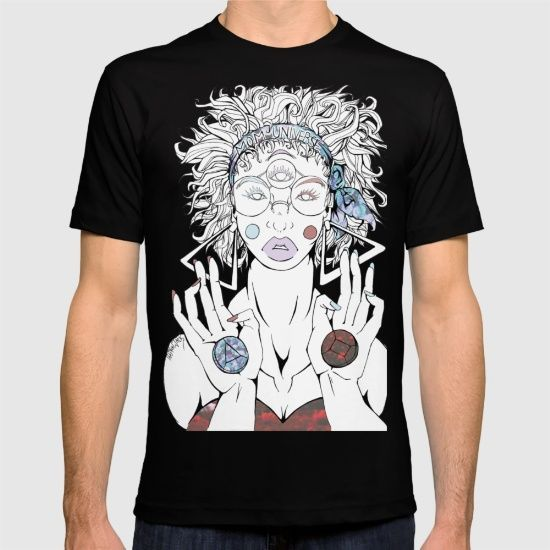 American Apparel T-shirts are made with 100% fine jersey cotton combed for softness and comfort. (Athletic Grey and Athletic Blue contain 50% polyester / 25% cotton / 25% rayon)  #society6 #society #stevenuniverse #steven #universe #garnet #crystalgems #crystal #gems #su #fanart #drawing #draw #tshirt #shirt #woman #man #glasses #illustration #tattoo #girl #eyes #peridot #quartz #ruby #sapphire #amethyst #pearl #ink #manga #anime #shopping #gadgets #comics #cartoon #network