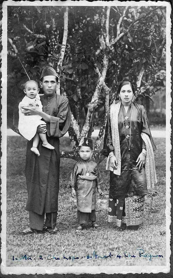 Malay family in Perak.