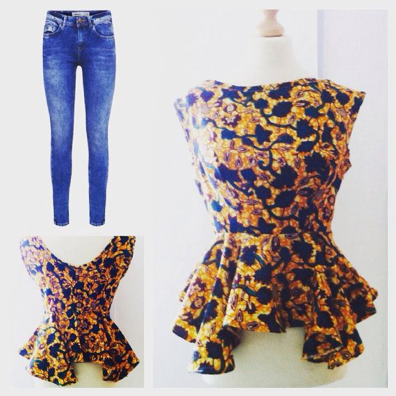 Check out this item in my Etsy shop https://www.etsy.com/uk/listing/243437950/tina-african-print-african-print-tops