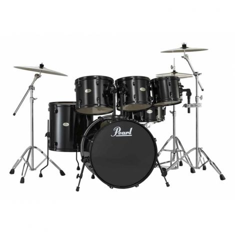 The Forum Drumset package includes absolutely everything you will need to get started on your path drumming satisfaction, including a set of high-quality cymbals, a pair of 5A sticks and a sturdy drum throne.