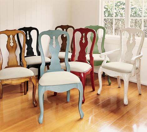 M s de 25 ideas incre bles sobre sillas tapizadas en for Sillas rusticas tapizadas