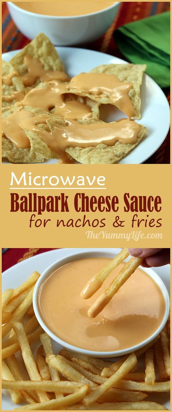 Easy to make in microwave in under 5 minutes. Real cheese with no Velveeta! Drizzle on nachos, fries, broccoli, baked potatoes, hot dogs or tacos. Great as sauce for macaroni and cheese. From TheYummyLife.com
