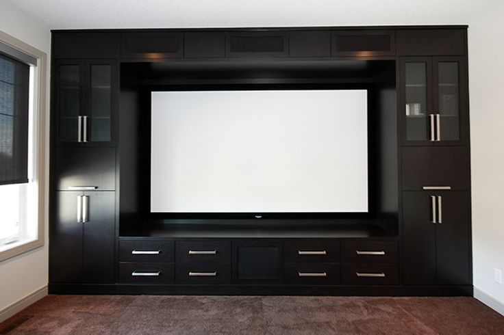 Love This Built In Entertainment Centre With Huge Screen I