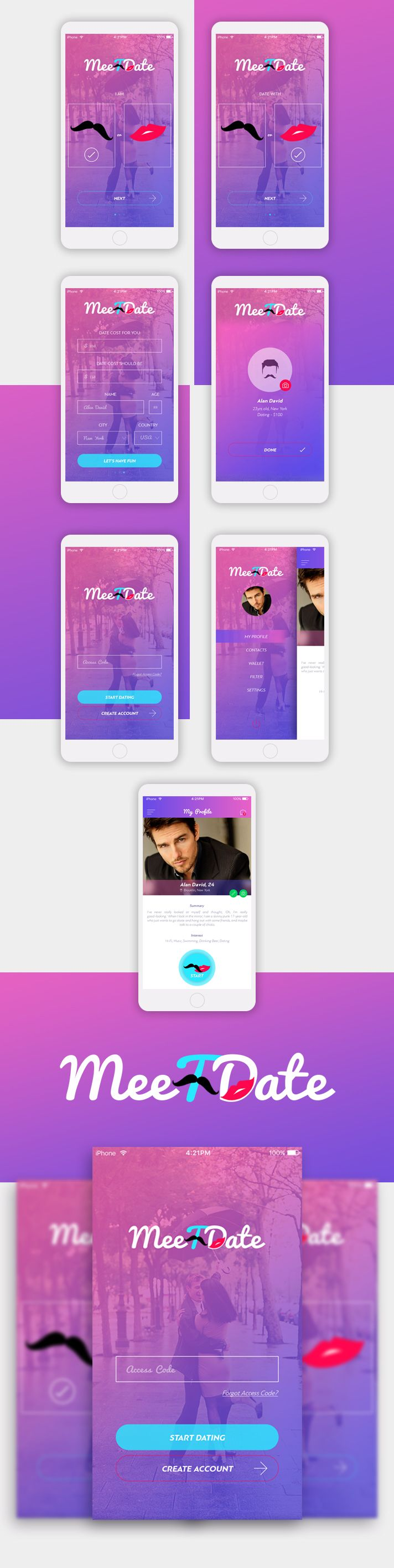 MeeTDate - Dating Mobile APP
