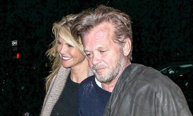 Christie Brinkley enjoys a date with new boyfriend John Mellencamp