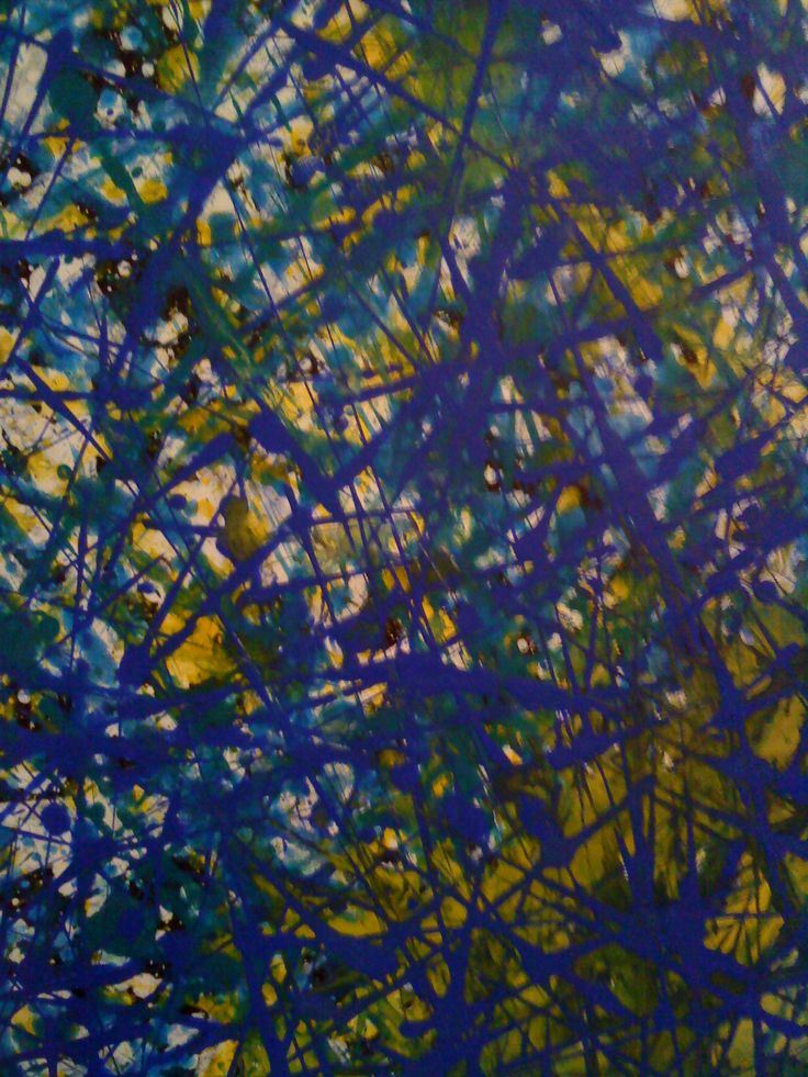 """""""Water grid"""" Experimentation. Acrylic on canvas (2007) Created by Anda Anastasopoulou https://www.facebook.com/Andapainting2015 Anda Anastasopoulou - Google  https://plus.google.com/104006191383272659096"""