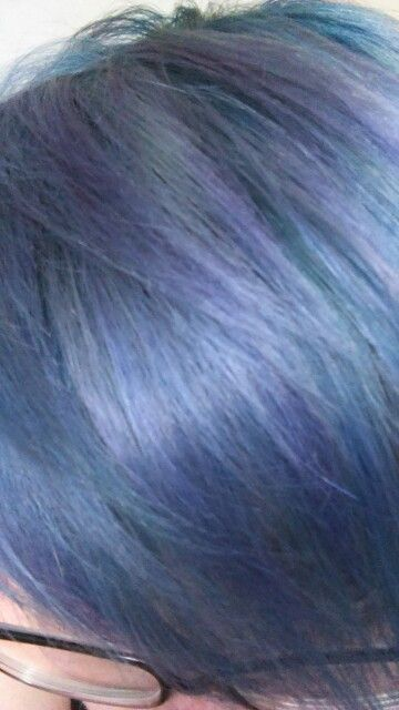 Directions midnight blue& lavender hair