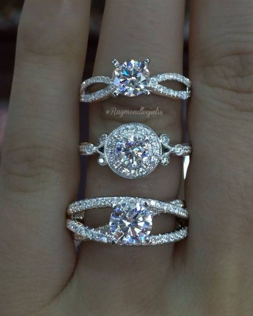 Gabriel & Co. has the most amazing Engagement Rings! Our designs and details are flawless and our diamonds are absolutely impeccable. These three engagement rings are some of our favorites we have designed and created! Which one is your favorite?